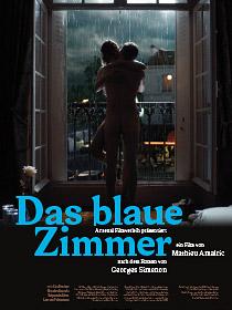 Filmplakat Das blaue Zimmer