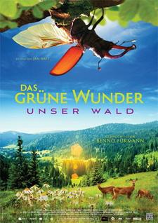 Filmplakat Das grüne Wunder - Unser Wald