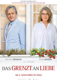 Filmplakat Das grenzt an Liebe - AND SO IT GOES - engl. OmU