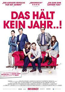 Filmplakat Das hält kein Jahr..! - GIVE IT A YEAR...! - engl. OmU