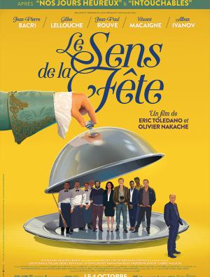 Filmplakat Das Leben ist ein Fest - Le sens de la fête - franz. OmU