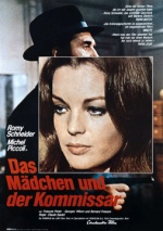 Filmplakat Das Mädchen und der Komissar