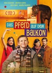 Filmplakat Das Pferd auf dem Balkon