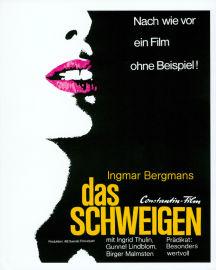 Filmplakat Das Schweigen