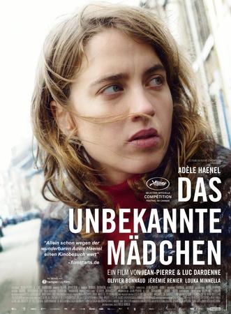 Filmplakat  Das unbekannte Mädchen