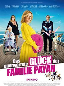 Filmplakat Das unerwartete Glück der Familie Payan