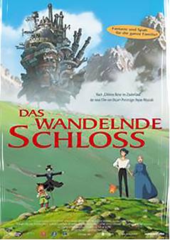 Filmplakat Das wandelnde Schloss