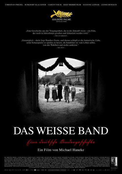 Filmplakat Das weiße Band