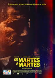 Filmplakat DE MARTES A MARTES - span. OmU