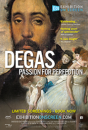Filmplakat EXHIBITION ON SCREEN: Degas - Leidenschaft und Perfektion - engl. OmU