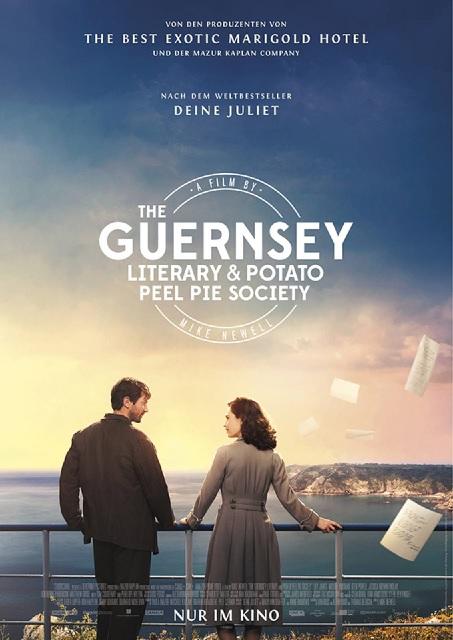 Filmplakat DEINE JULIET - The Guernsey Literary and Potato Peel Pie Society - engl. OmU