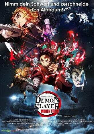 Filmplakat DEMON SLAYER - THE MOVIE: MUGEN TRAIN