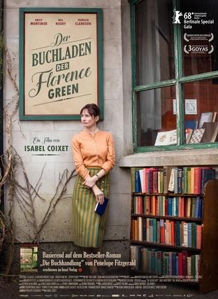 Filmplakat Der Buchladen der  Florence Green