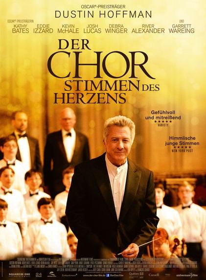 Filmplakat DER CHOR - Stimmen des Herzens