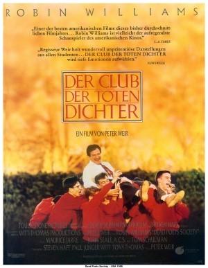 Filmplakat Der Club der toten Dichter
