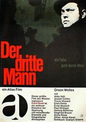 Filmplakat Der Dritte Mann