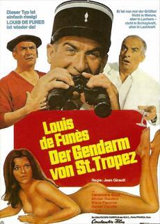 Filmplakat Der Gendarm von St. Tropez - Le Gendarme de St. Tropez - franz. OmU
