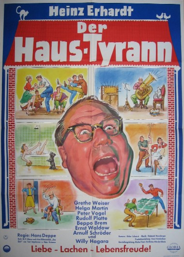 Filmplakat Der Haustyrann