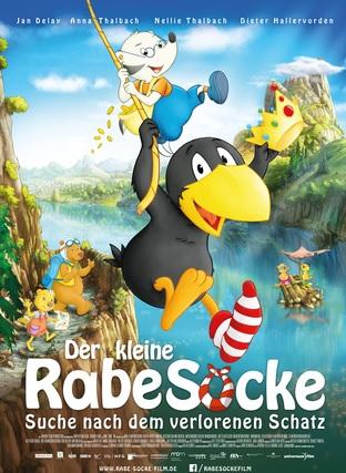 Filmplakat Der kleine Rabe Socke - Suche nach dem verlorenen Schatz
