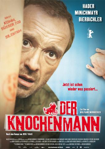 Filmplakat Wolf Haas: DER KNOCHENMANN