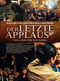 Filmplakat Der letzte Applaus - El Ultimo Aplauso - span. OmU