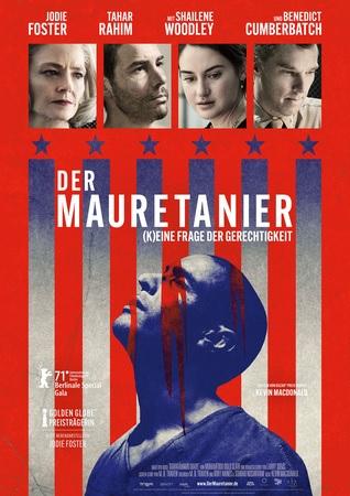 Filmplakat DER MAURETANIER - (K)EINE FRAGE DER GERECHTIGKEIT