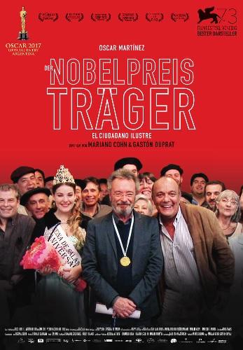 Filmplakat CINESPAÑOL: Der Nobelpreisträger - EL CIUDADANO ILUSTRE - span. OmU