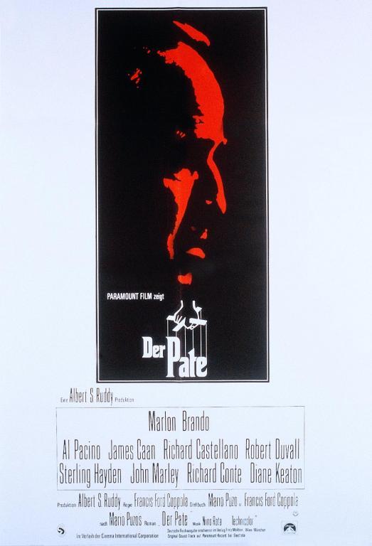 Filmplakat Der Pate - THE GODFATHER - engl. OmU