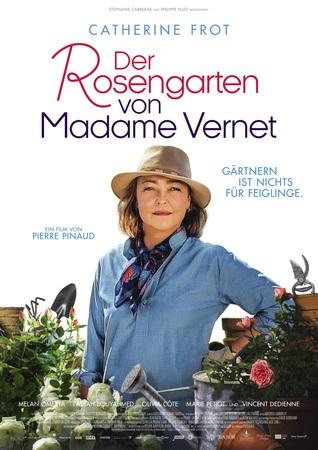 Filmplakat Der Rosengarten von Madame Vernet