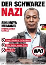 Filmplakat Der schwarze Nazi - Eine Filmgroteske