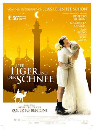 Filmplakat Der Tiger und der Schnee - La Tigre e la neve - ital. OmU