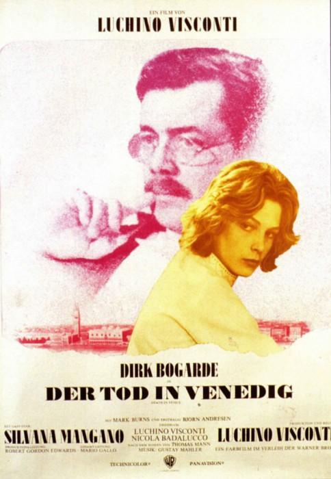 Filmplakat Der Tod in Venedig