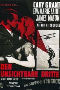 Filmplakat Der unsichtbare Dritte (NORTH BY NORTHWEST (engl. OmU)
