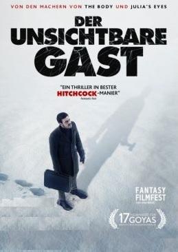 Filmplakat Der unsichtbare Gast - Contratiempo - span. OmU
