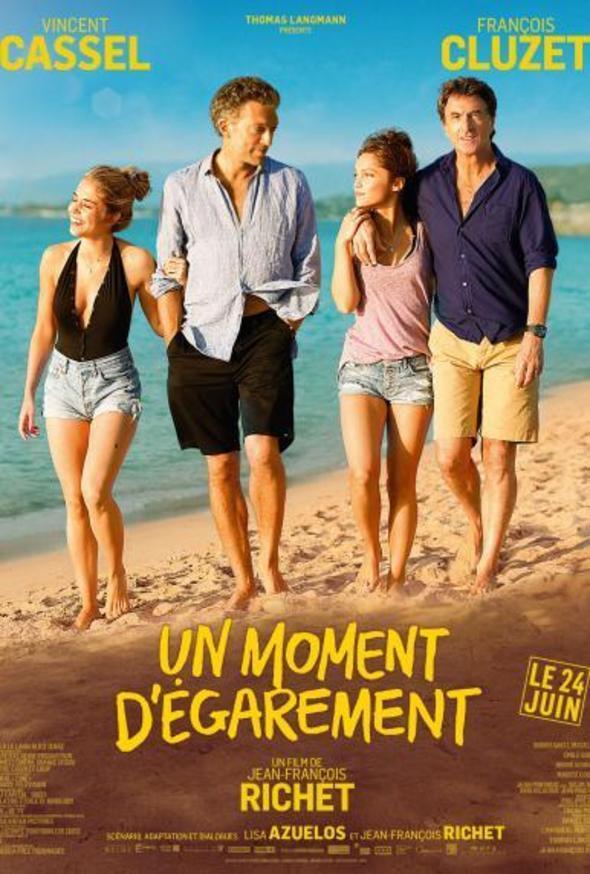Filmplakat Der Vater meiner besten Freundin - UN MOMENTE D ÉGAREMENT - franz. OmU