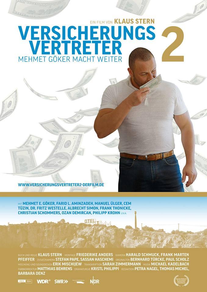 Filmplakat Der Versicherungsvertreter 2 - Mehmet Göker macht weiter