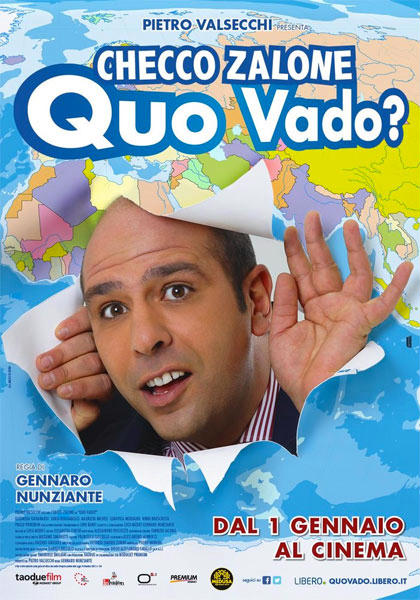 Filmplakat Der Vollposten - Quo Vado ? - ital. OmU