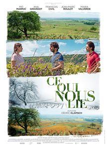 Filmplakat Der Wein und der Wind - CE QUIS NOUS LIE - franz. OmU