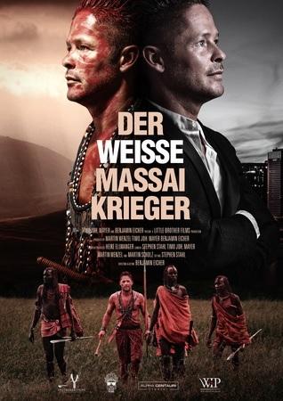 Filmplakat DER WEISSE MASSAI KRIEGER