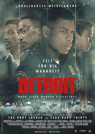 Filmplakat DETROIT - Zeit für die Wahrheit