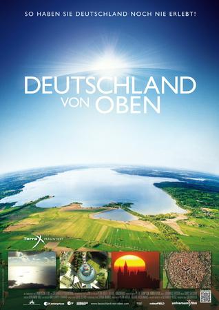 Filmplakat Deutschland von oben