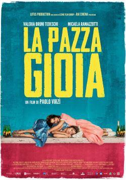 Filmplakat Die Überglücklichen - LA PAZZA GIOIA - ital. OmU