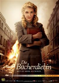 Filmplakat Die Bücherdiebin
