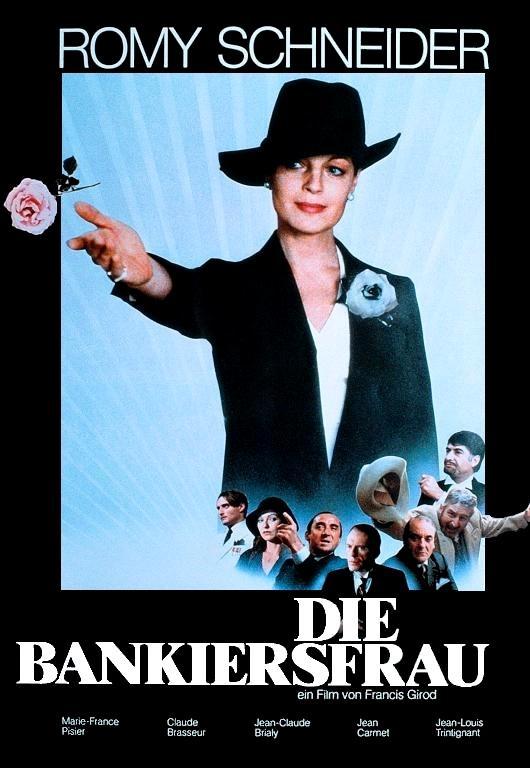 Filmplakat Die Bankiersfrau