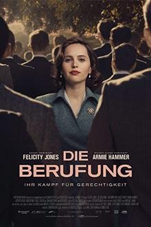 Filmplakat Die Berufung - Ihr Kampf für Gerechtigkeit