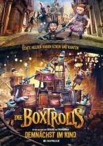 Filmplakat Die BOXTROLLS