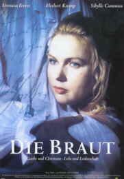 Filmplakat Die Braut - Goethe & Christiane