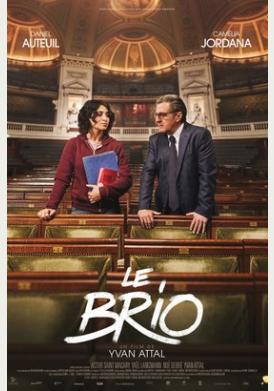 Filmplakat Die brillante Mademoiselle Neïla  - LE BRIO - franz. OmU