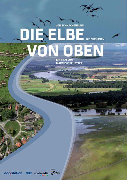 Filmplakat Die Elbe von oben