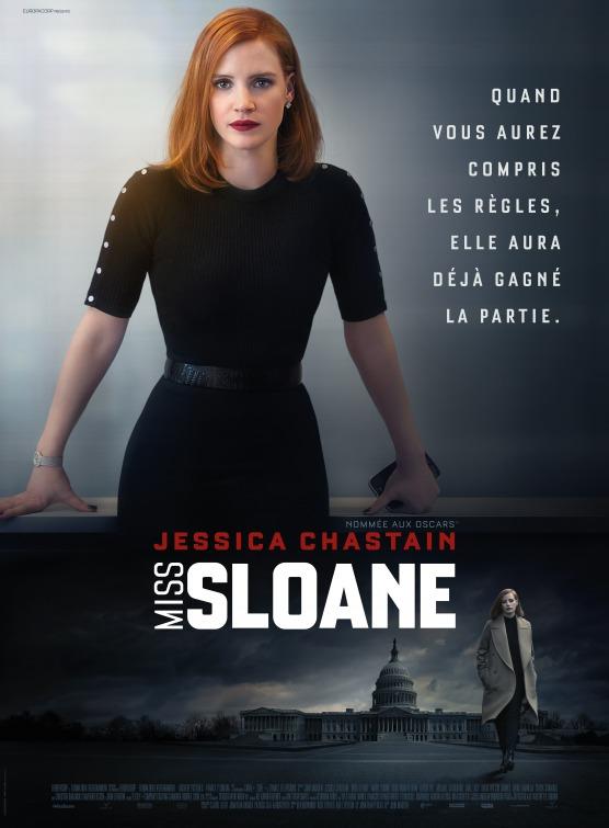 Filmplakat Die Erfindung der Wahrheit - MISS SLOANE - engl. OmU